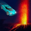 Lava Car Stunt Challenge Racer