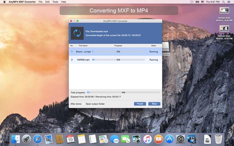AnyMP4 MXF转换器