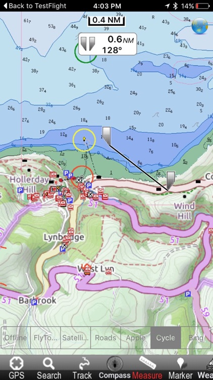 Exmoor National Park - GPS Map Navigator screenshot-0