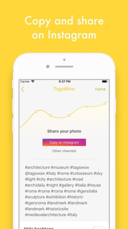 TagsWow - Hashtag for likes screenshot-4