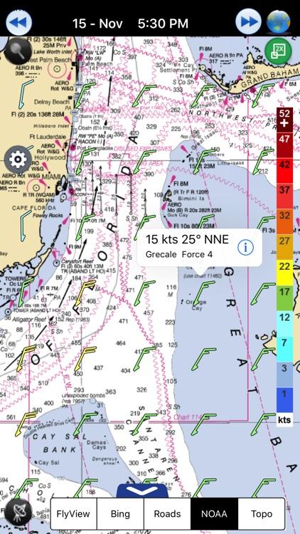 Wind forecast for Windgurus screenshot-4