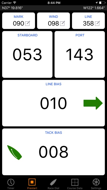 tack X Sailing Regatta Timer screenshot-2