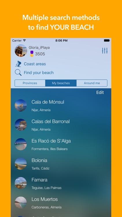 iPlaya+ Beach weather forecast screenshot-0