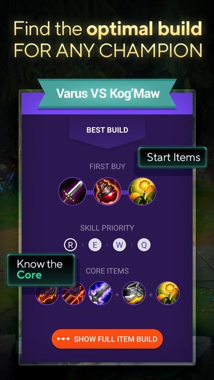 LOLSUMO Champion Items Builds