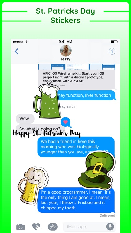 Happy St Patricks Day Sticker screenshot-3