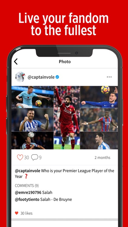 VOLE - Sports Social Network screenshot-3