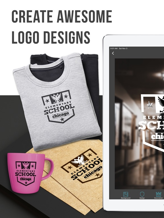 Vintage: Logo Maker & Creator Screenshots
