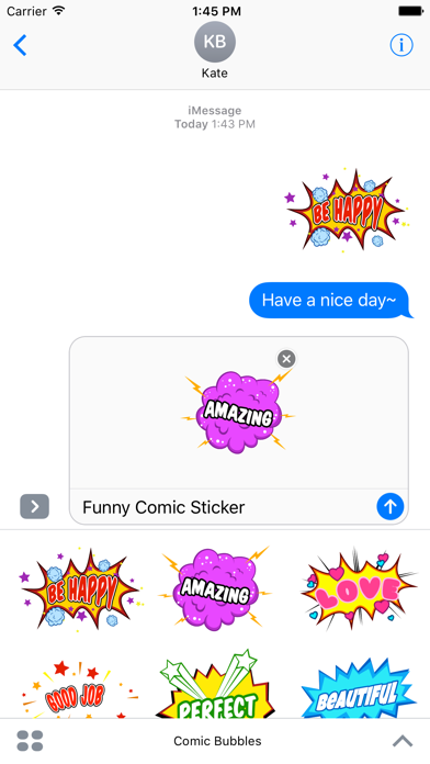 Animated Comic Speech Bubbles Pack Collection screenshot 2
