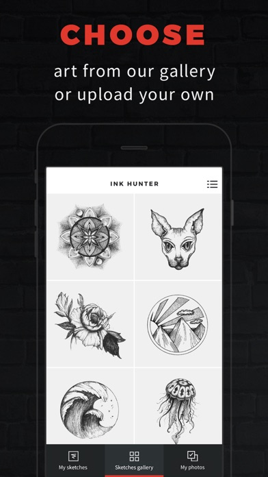 INKHUNTER Try Tattoo Designs