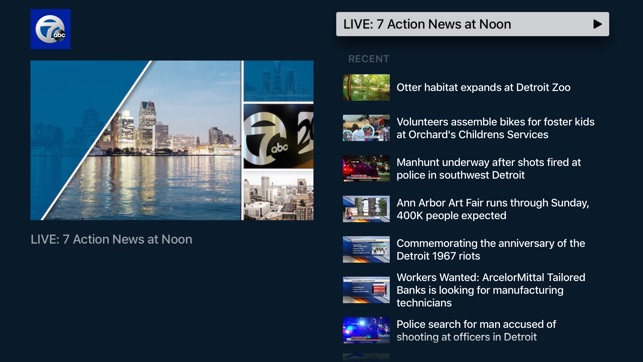 WXYZ 7 Action News in Detroit on the App Store