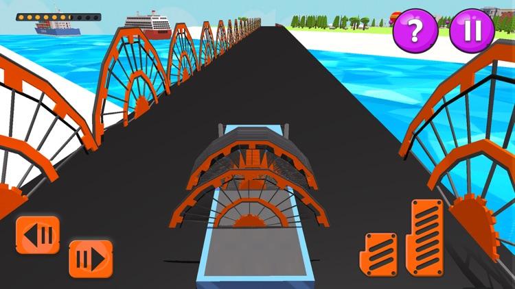 Bridge Build Simulator Design screenshot-4