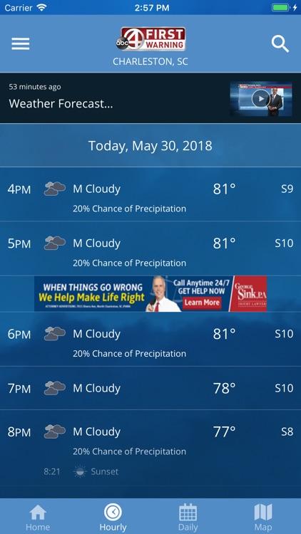 ABC 4 First Warning Weather Screenshot 2