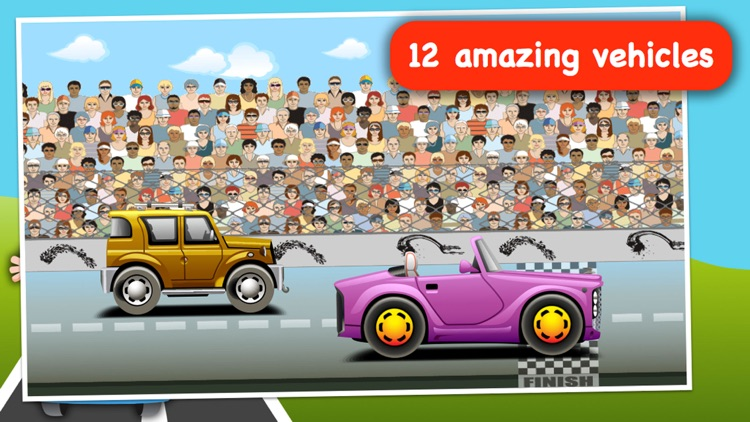 Baby Race - build a car and take a ride! screenshot-3