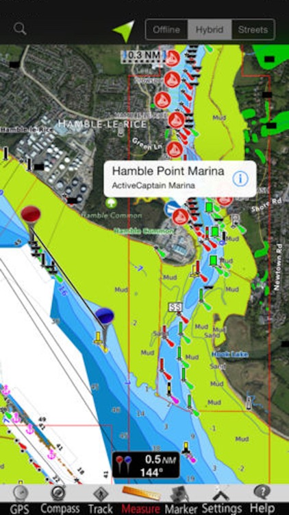 Channel Is. GPS Nautical Chart