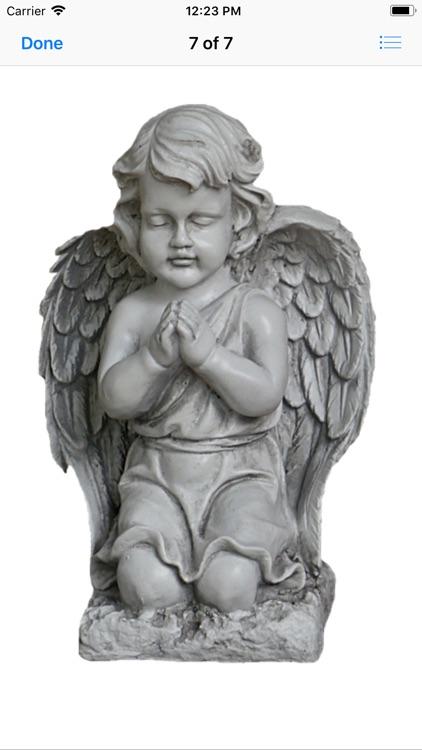 Angel Statue Stickers screenshot-7