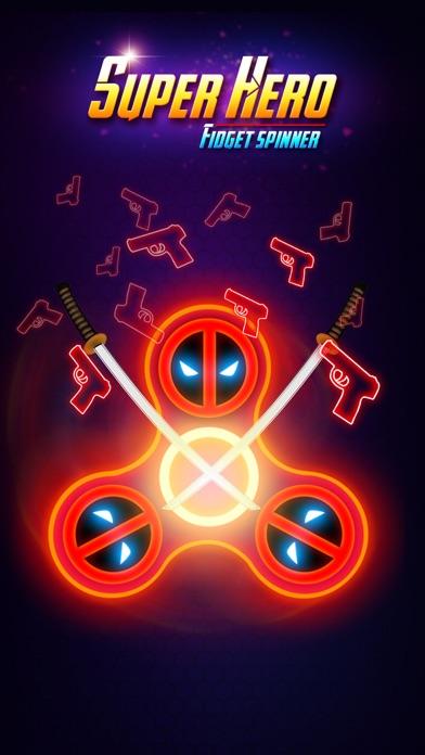 SuperHeroes Fidget Spinner screenshot #4