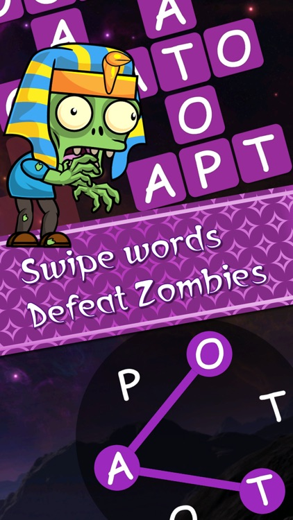 Words v Zombies - word puzzle screenshot-0