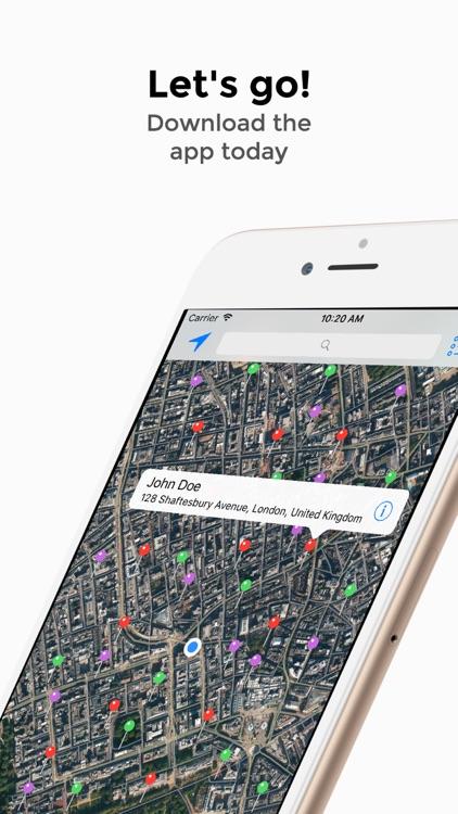 Contact Map Pro screenshot-4
