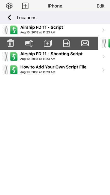 Final Draft Mobile screenshot-3