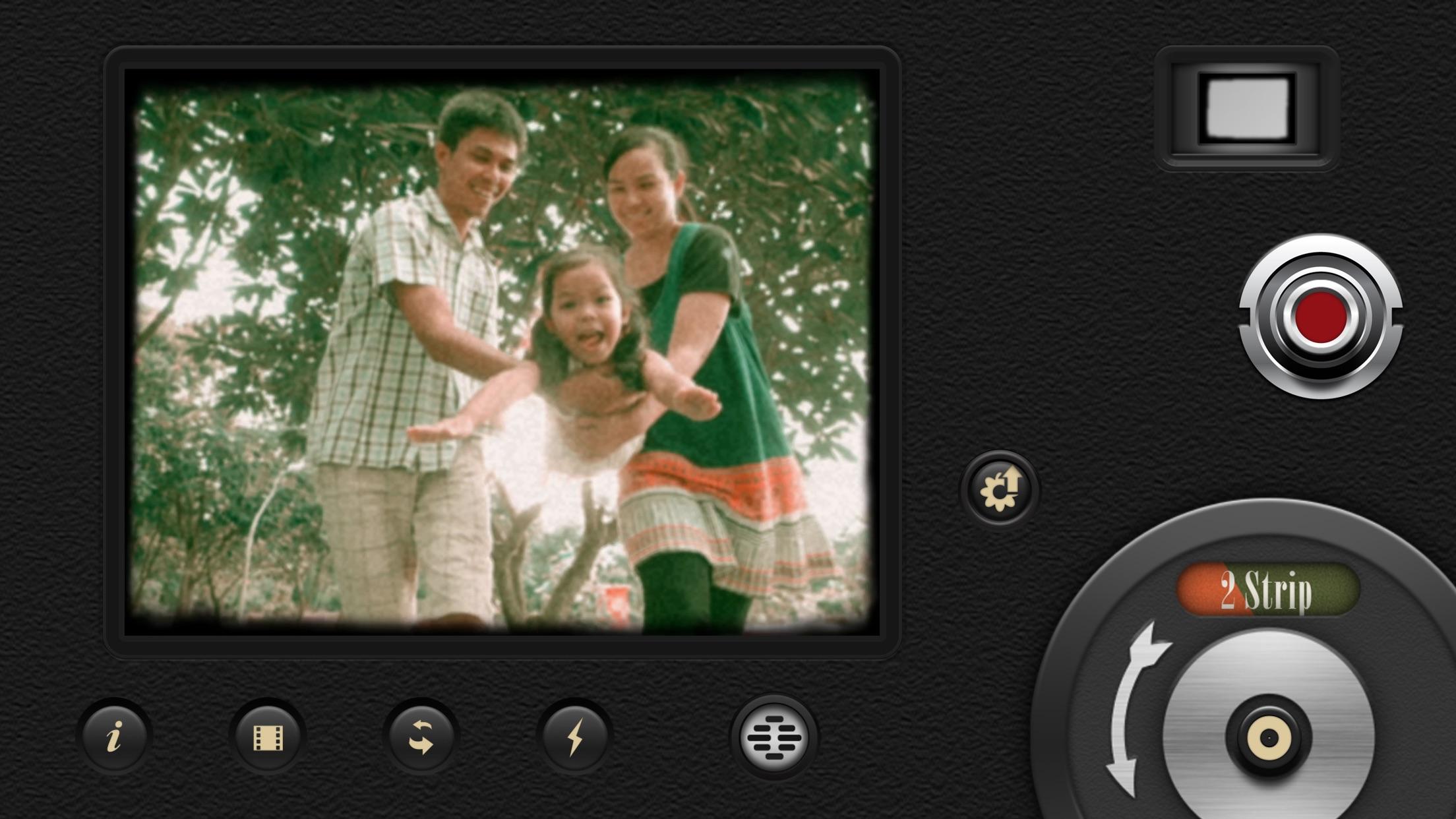 Screenshot do app 8mm Vintage Camera