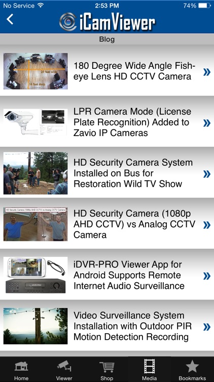 iCamViewer: CCTV Camera Pros screenshot-3
