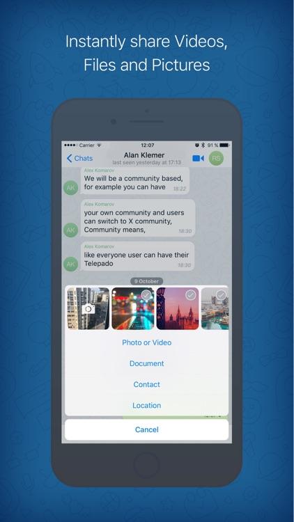 Telepado screenshot-3