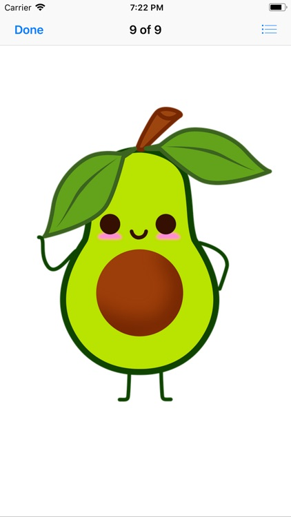 Avocado Stickers screenshot-8