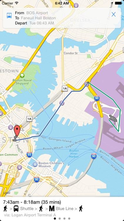 Transit Tracker - Boston screenshot-3