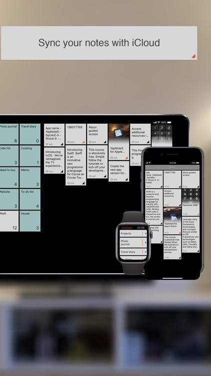 YepNoteS: Simple notes & lists screenshot-4