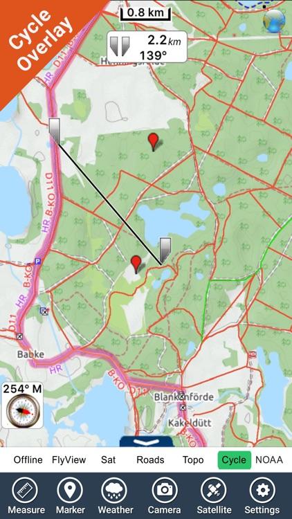 Muritz National Park - GPS Map Navigator
