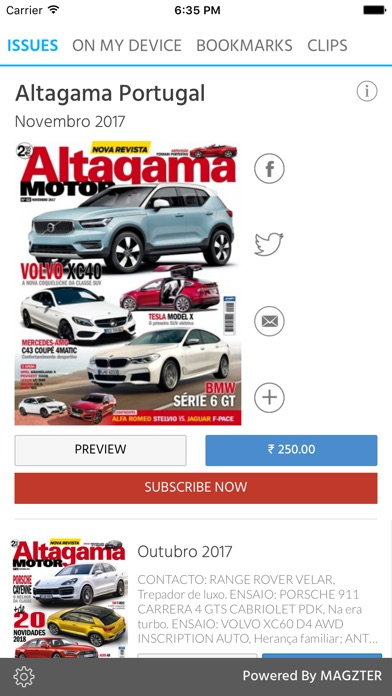 Altagama Portugal screenshot 1