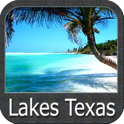 Lakes Texas GPS fishing charts