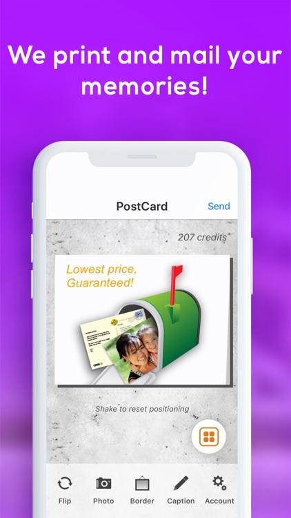 SnapShot Postcard App