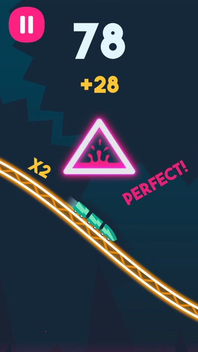Rollercoaster Dash screenshot 3