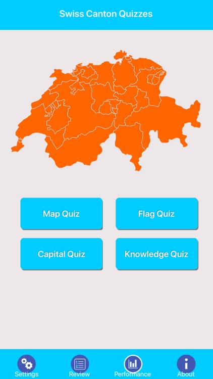 Swiss Canton Quizzes screenshot-0