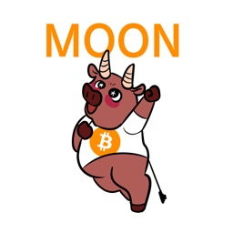 Bitcoin Animal Stickers