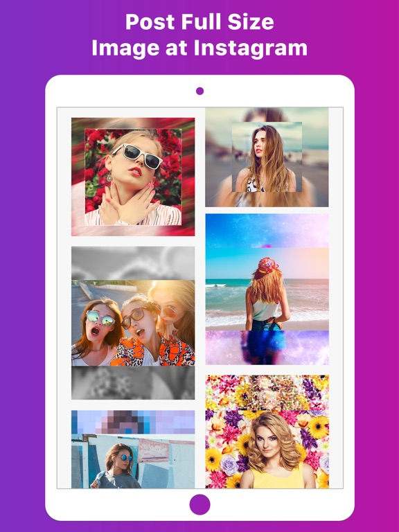 No Crop – Video & Pictures Fit-ipad-1