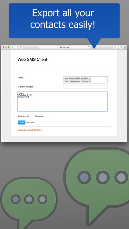 Web Browser SMS screenshot-3