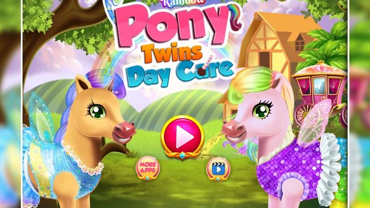 Rainbow Pony Twins Day Care