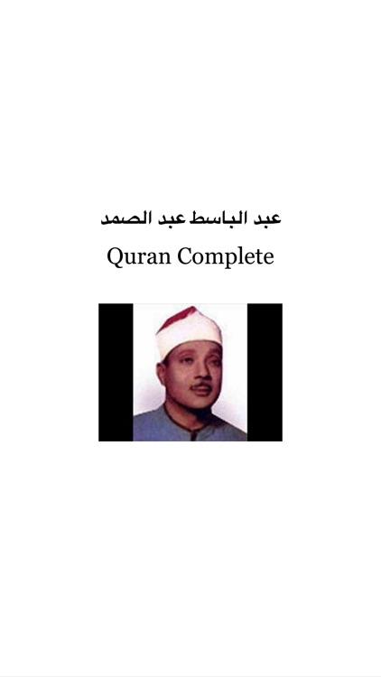 quran abd albaset abd samad mp3 complet