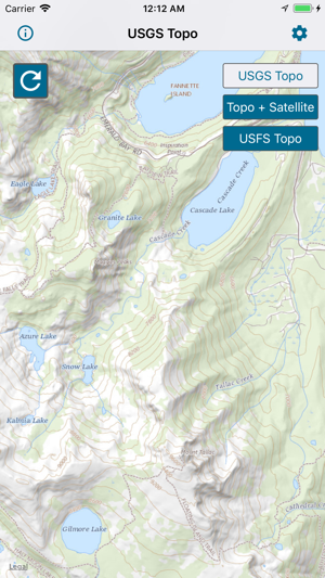 Topographic Maps & Trails on the App Store