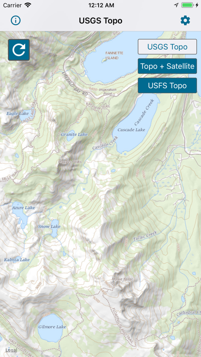 Topographic Maps & Trails screenshot 1
