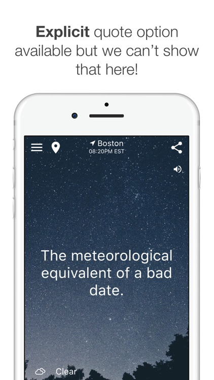 HumorCast - Hilarious Weather screenshot-3