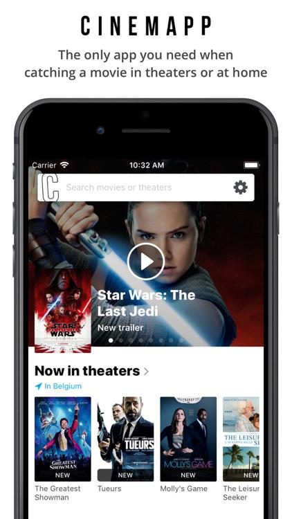 Cinemapp - Catching a movie?