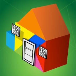 Kinder Tangram: Build A House 4+
