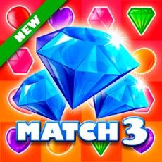 Activities of Precious Gemstones Match 3: Ruby Cascade