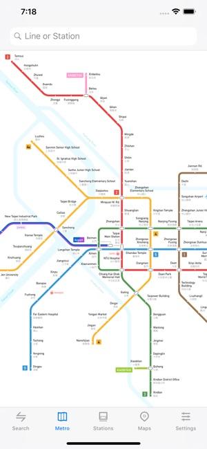 Subway Map Taipei.Metro Taipei Subway On The App Store