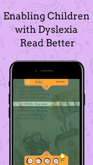 Dyslexics Using Iphone As Reading Aid >> Mda Avaz Reader For Dyslexia