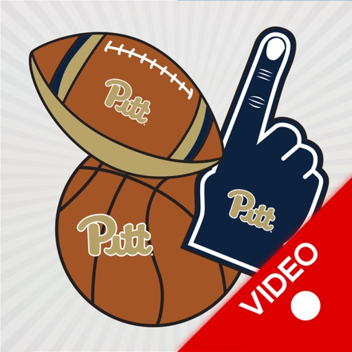 Pittsburgh Panthers Animated Selfie Stickers