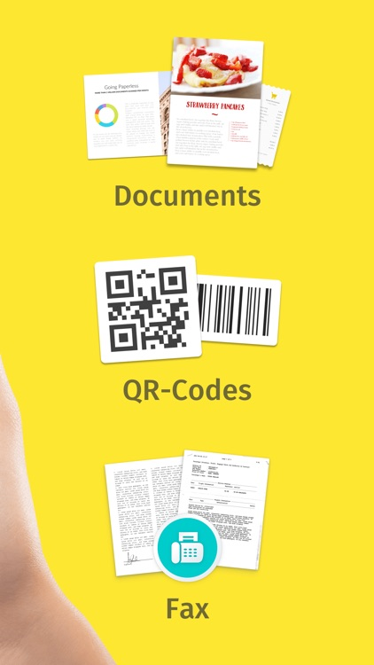 Scanner for Document, Send Fax